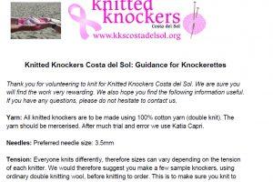 4 Guidance for Knockerettes
