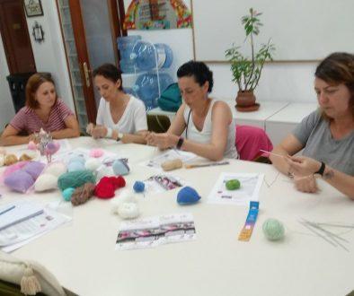 First workshop at AECC Carvajal
