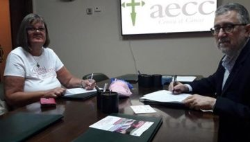 Signing Agreement with AECC