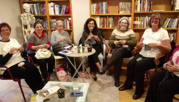 Visit to Malaga Knits meeting - Feb 8 2019