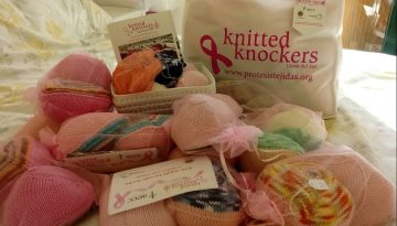 Knitted Knockers kits